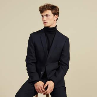 Sandro Slim-Fit Wool Suit Jacket