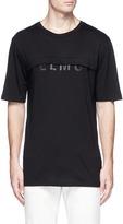 Helmut Lang Logo print layered T-shirt