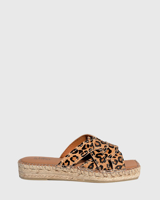 Wittner - Women's Multi Sandals - Usko Stitched Espadrille Slides - Size One Size, 38 at The Iconic