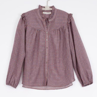 XiRENA The Ryleigh Blouse In Raw Amber - XS