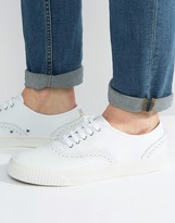 Fred Perry Barson Brogue Leather Trainers