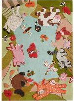 nuLoom Handmade Kids Animal Farm Wool Rug (3'6 x 5'6)