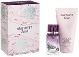 Lalique Amethyst Eclat EDP Natutal Spray & Body Lotion Tube 2-Piece Gift Set