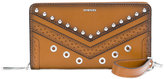 Diesel studded wallet - women - Calf Leather - One Size