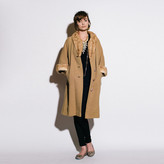 R & E {re}collect vintage '40s Scalloped Fur Edged Coat