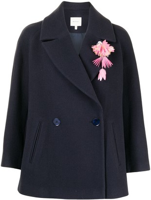 DELPOZO Wide Blazer Jacket