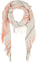 Barneys New York WOMEN'S FOLKLORIC-PATTERNED JACQUARD SCARF