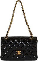One Kings Lane Vintage Chanel Double-Sided Patent Flap Bag
