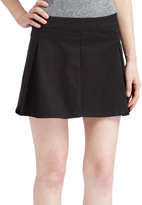 Black Pleated Mini Skirt - ShopStyle