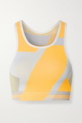 Nike Icon Clash Color-block Dri-fit Stretch-knit Sports Bra - Pastel orange