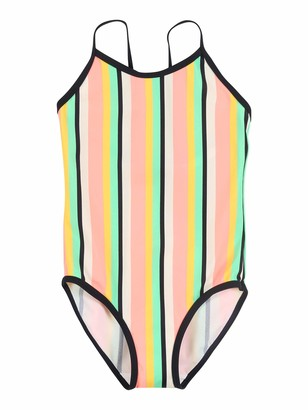 Name It Girl's Nmfztripe One Piece Swimsuit