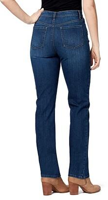 Gloria Vanderbilt Petite Amanda Classic High-Rise Tapered Jeans