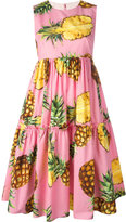 Dolce & Gabbana pineapple print dress - women - Cotton - 40