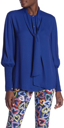 Love Moschino Punto Smock Blouse