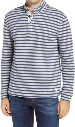 johnnie-O Desi Stripe Men's Henley Pullover