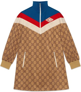 Gucci GG technical jersey dress