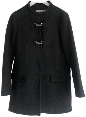 Gerard Darel Grey Wool Coats