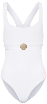Max Mara Leisure Brioso embellished swimsuit