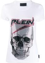 Philipp Plein space skull T-shirt