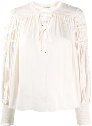 Ulla Johnson Fernanda balloon sleeve blouse