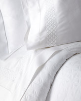 Home Treasures King 300TC White Sateen Fitted Sheet