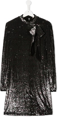 No21 Kids TEEN sequin-embellished dress