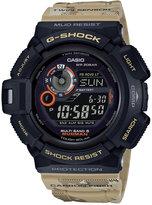 G-Shock Men's Solar Digital Mudmaster Beige Camouflage Resin Strap Watch 51x53mm GW9300DC-1
