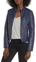 Andrew Marc Women's Blakely Faux Leather Jacket