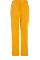 Paule Ka Cotton Poplin Skinny Trousers with Pockets