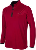 Greg Norman For Tasso Elba Embossed Quarter-Zip Shirt, Only at Macy's