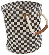 Mackenzie Childs MacKenzie-Childs Courtly Check Small Storage Tote