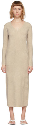 Lisa Yang Beige Cashmere The Willow Dress