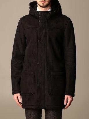 Patrizia Pepe Coat In Eco Sheepskin