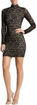 Dress the Population Penelope Mock-Neck Lace Dress