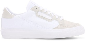 adidas Continental Vulc J Leather Sneakers