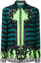 Versace embroidered blouse - women - Silk - 40