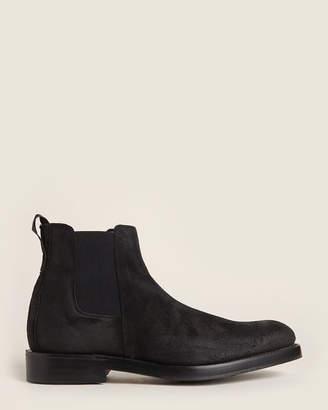 Rag & Bone Black Suede Chelsea Boots