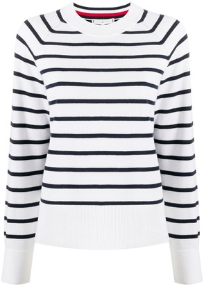 Tommy Hilfiger Striped Colour Block Jumper