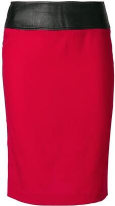 High-Waisted Tube Skirt