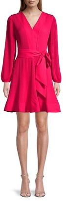Milly Knit Pleat Fit-&-Flare Dress