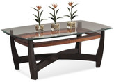 Bassett Mirror Elation Rectangle Cocktail Table, Copper Ring