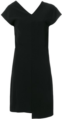 Helmut Lang Asymmetric Hem Mini Dress