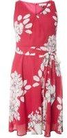 Dorothy Perkins Womens **Billie & Blossom Petite Pink Floral Print Dress- Pink