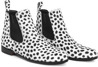 Kmana Janes Cheetah Chelsea Boots