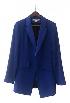 Diane von Furstenberg Blue Polyester Jackets