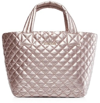 MZ Wallace Small Metro Quilted Nylon Tote