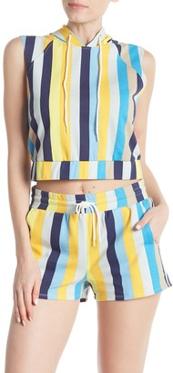 Material Girl Cropped Sleeveless Pullover