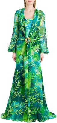 Versace Jungle Dress