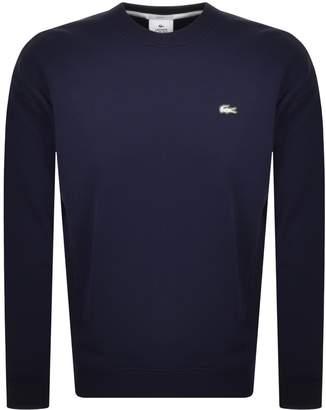Lacoste Live Crew Neck Sweatshirt Navy