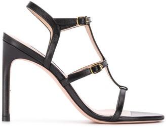 Stuart Weitzman Buckle Detail Sandals